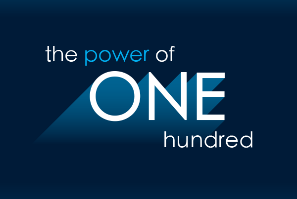 The power of ONE hundred Campaign